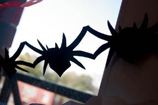 ideia  decoração fácil halloween