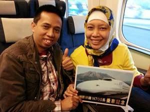 Pak Cheriatna dan Bu Farida, founder Ceria Wisata Tour Travel