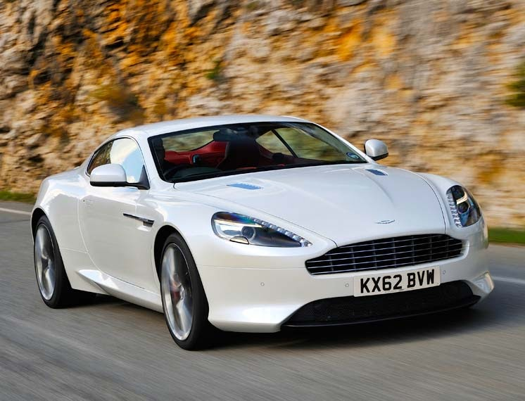 The New 6.0 litre V12 Aston Martin DB9