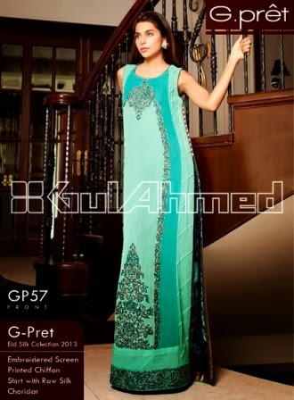 Gul Ahmed Frocks Suits