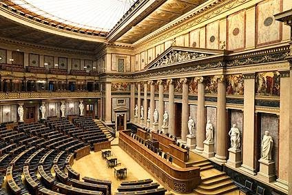Κοινοβούλιο Ελλάδας και Αυστρίας! Βρείτε τις διάφορες!
