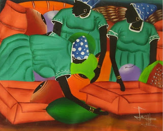 Negras Africanas Pintadas