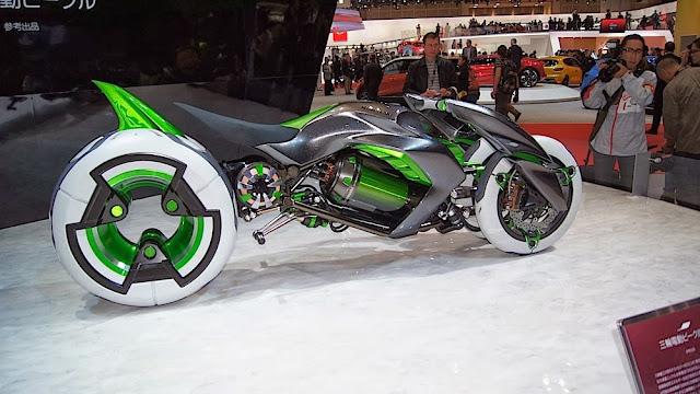 Kawasaki J | Kawasaki J Concept | Kawasaki J wallpaper | Kawasaki J specs | Kawasaki J Trike | Kawasaki J Specs | Kawasaki J Tokyo Motor Show 2013