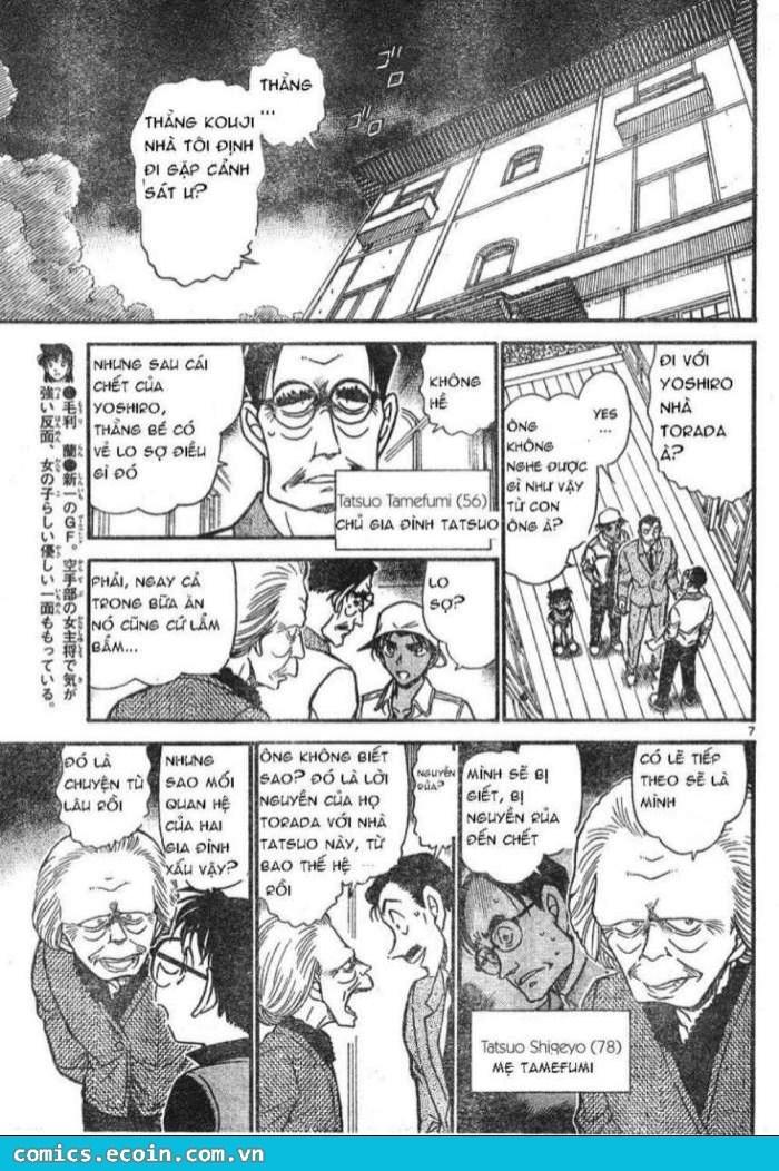 Detective Conan - Thám Tử Lừng Danh Conan chap 614 page 7 - IZTruyenTranh.com