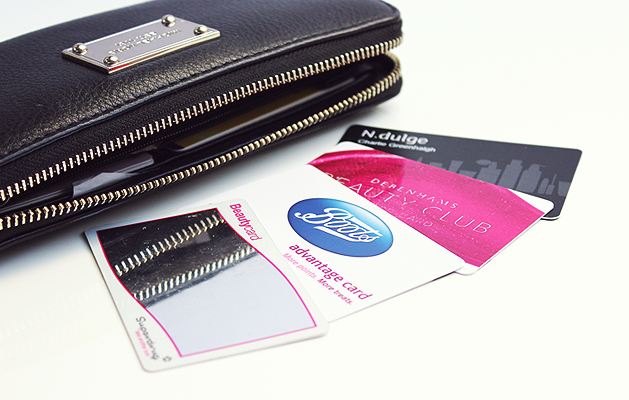Beauty Point Cards, Beauty Rewards Cards, Boots Advantage Card, Debenhams beauty club