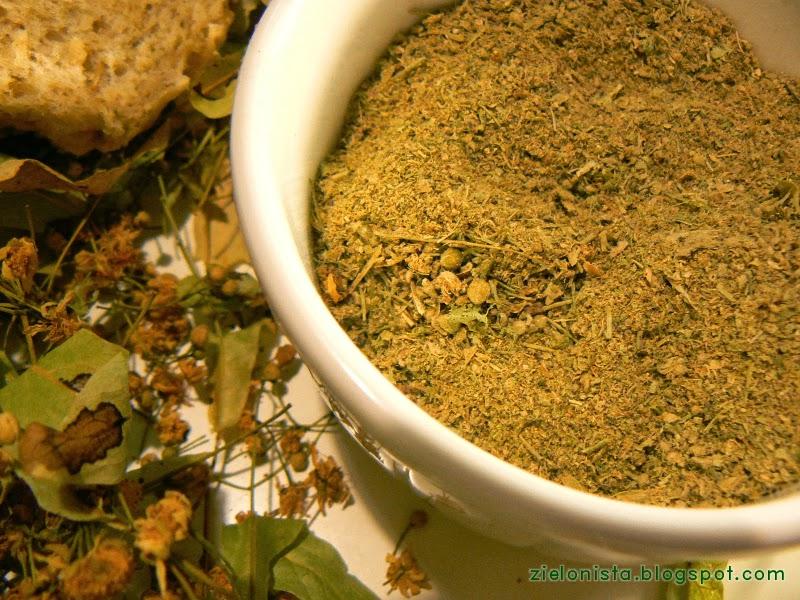 zmielone kwiaty lipy (wraz z przylistkami) - zielonista.blogspot.com