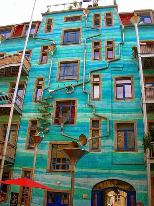 Increíble edificio musical en Alemania