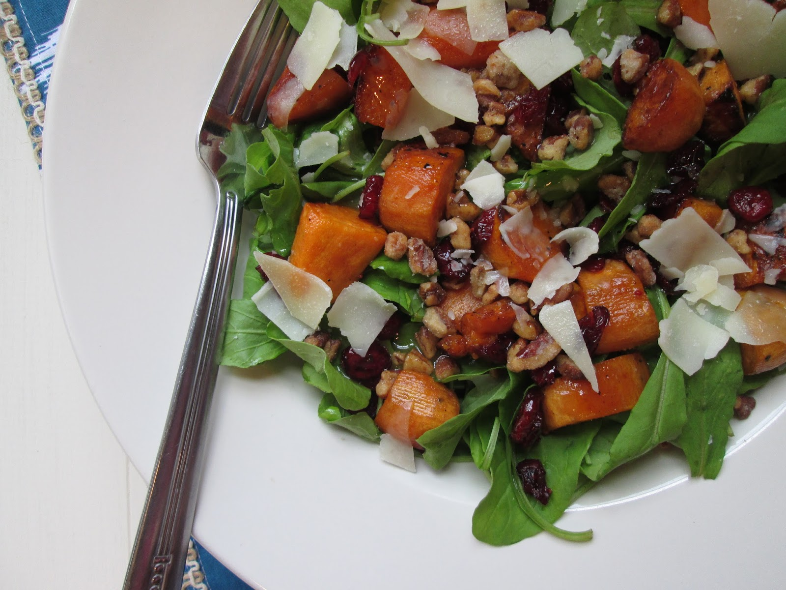 Stirring the Pot: Roasted Sweet Potato and Arugula Salad ...
