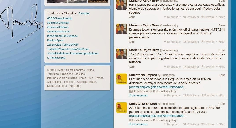 Las mentiras sobre el desempleo del gobierno de Rajoy