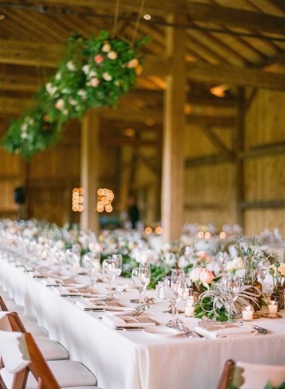 decoración espacio boda rústico