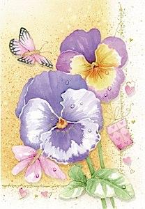 mariposas, flores y regalos  Etiquetas para regalos de flores