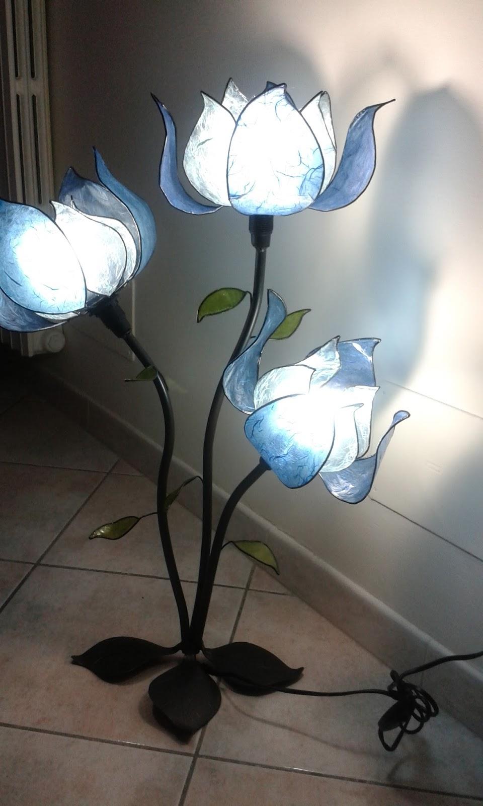 Lampade Fiori: Marcoproietti: lampade... fiori. Come montare la ...