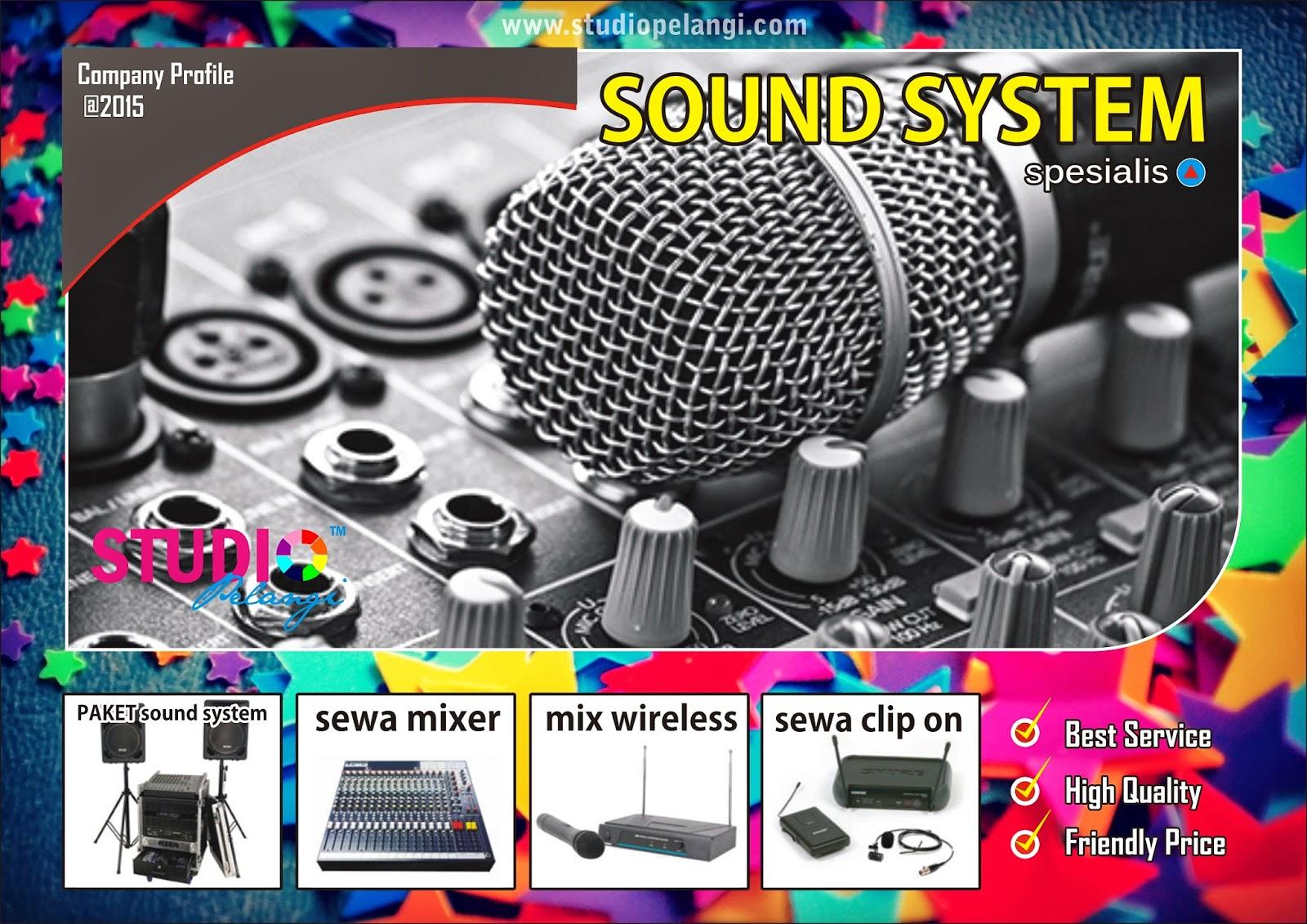 sewa sound system semarang murah