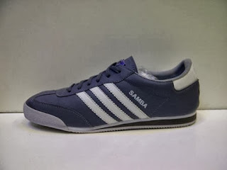 Sepatu Adidas Samba Abu-abu