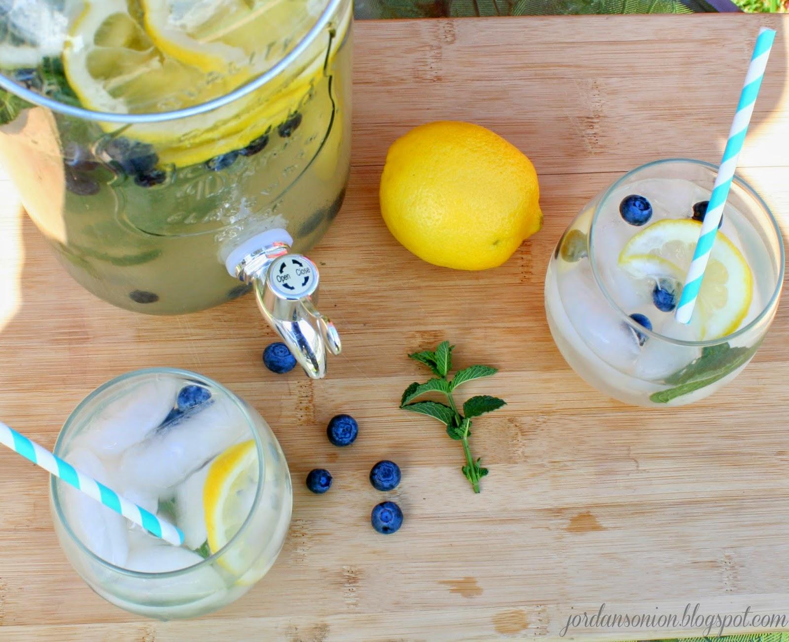 Blueberry Mint Lemonade – Jordan's Easy Entertaining