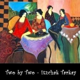 Two by Two by Itzchak Tarkay
