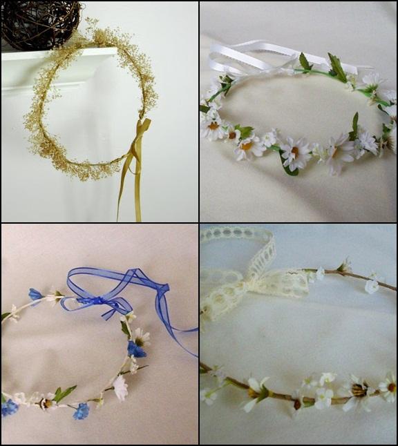 Flower Crown Dari Tali Macam - macam flower crown Cara Membuat Flower ...