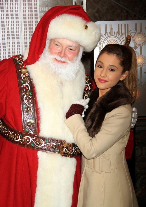 Grinch confession: Ariana Grande hates Santa!