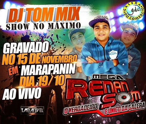 Baixar CD do DJ TOM Mix