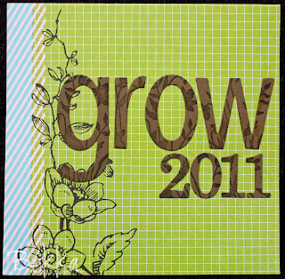Grow Album Title Page