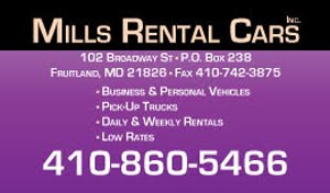 Mills Rental Cars