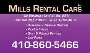 Mills Rental Cars
