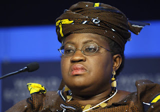 Former Minister of Finance, Ngozi Okonjo-Iweala