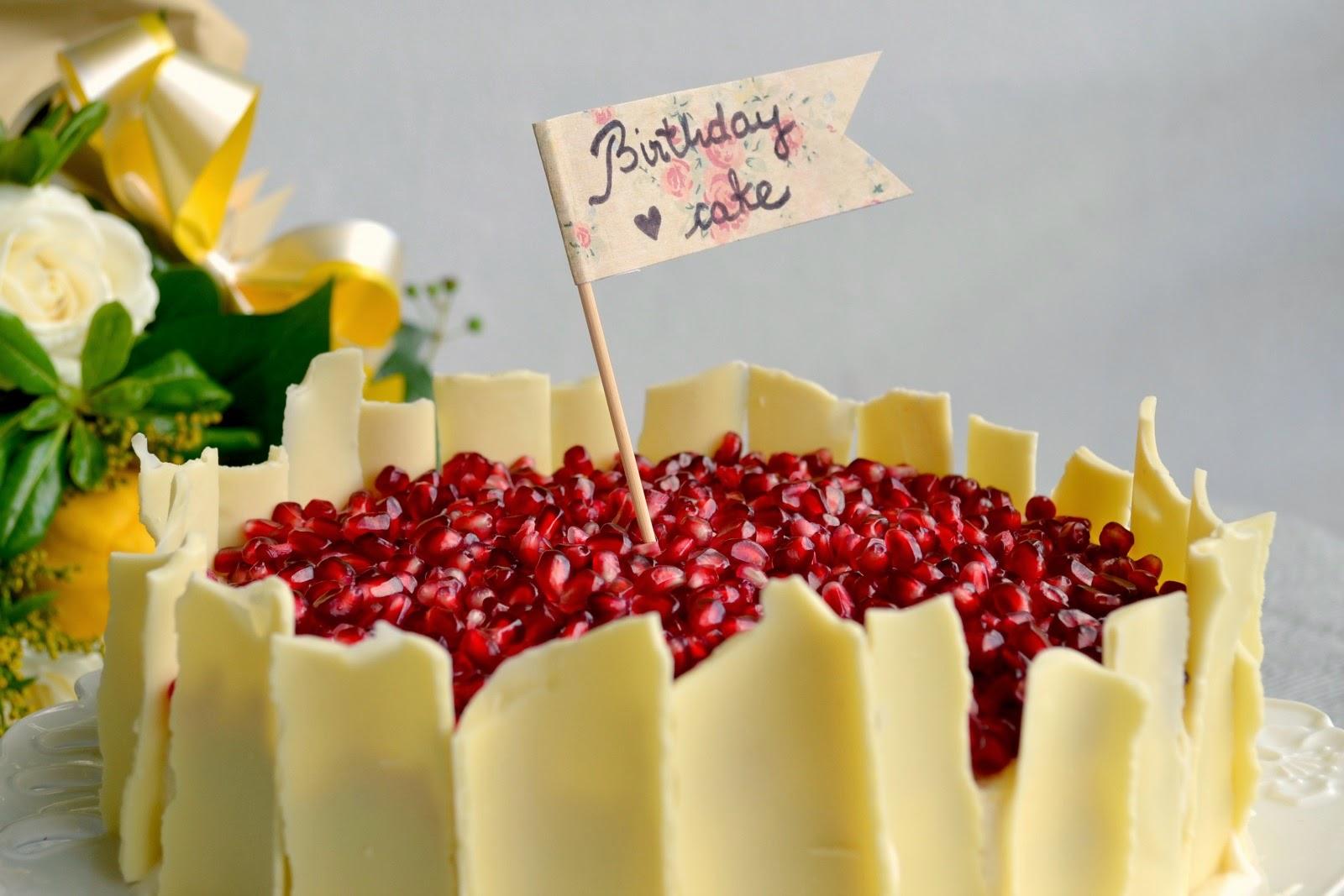 Jar Of Handmade Recipe Eminas Birthday Cake with White Chocolate