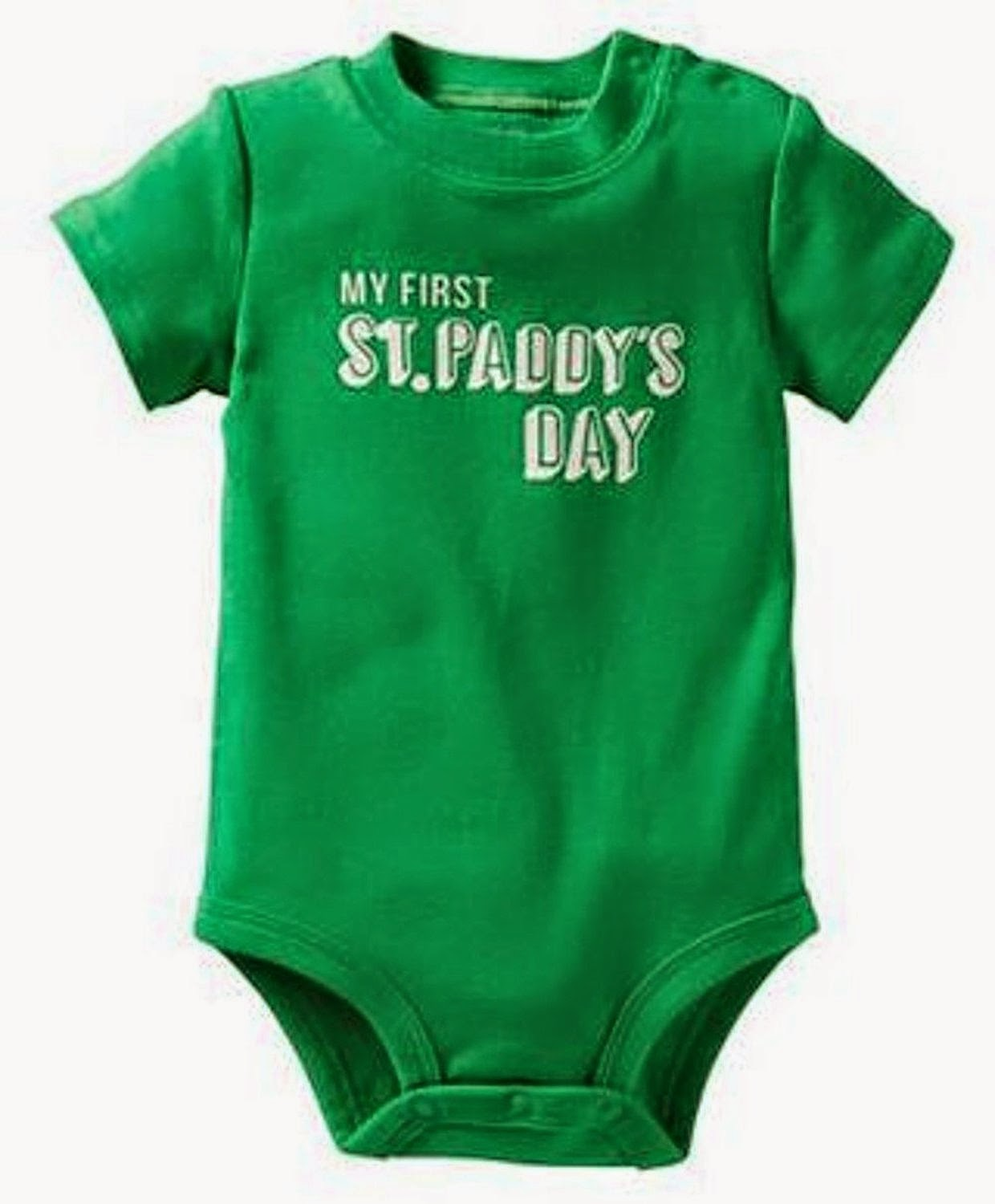 St Patricks Baby Clothes