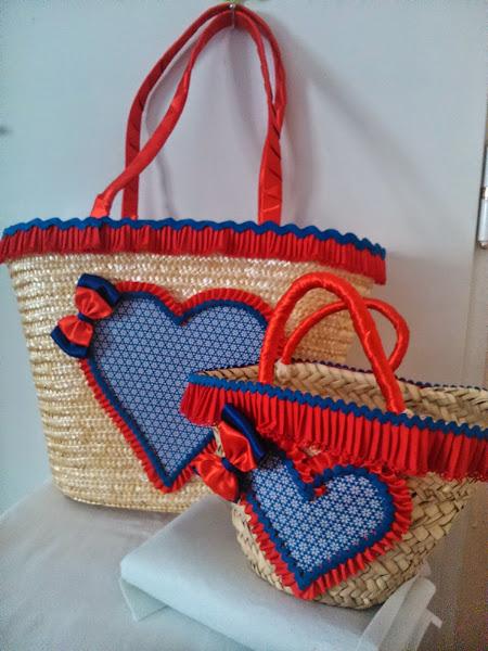 Como adornar bolsos de mimbre imagui - Adornar cestas de mimbre ...