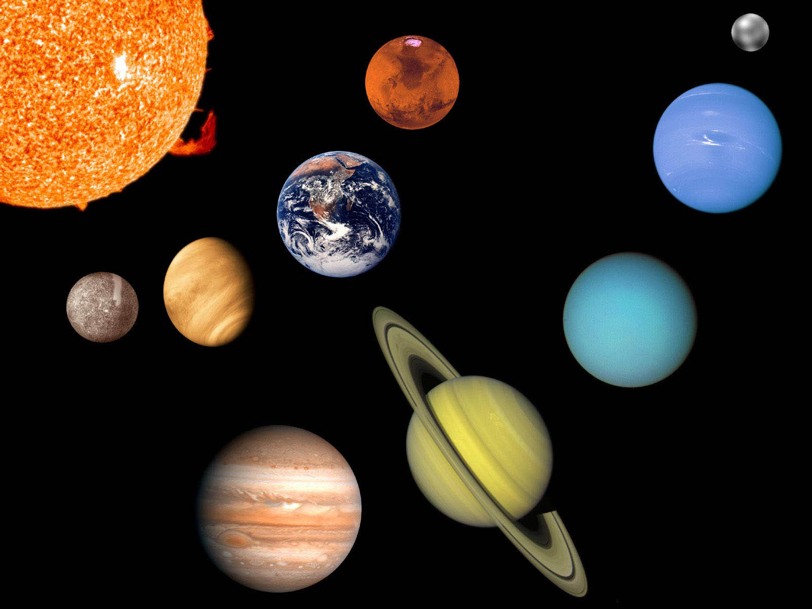 Wallpaper planets in space wallpapers for Outer space planets