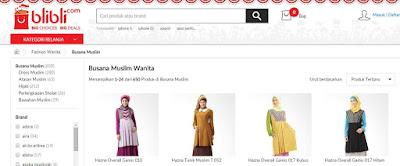busana muslim wanita terbaru