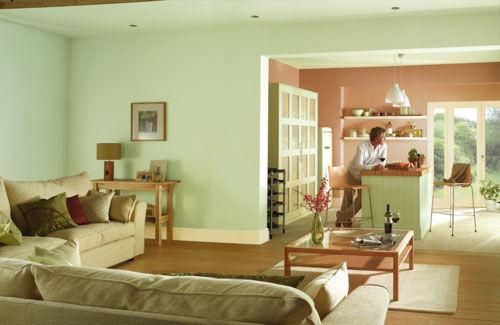 Sala De Estar Com Verde ~ Bricolage e Decoração Salas Decoradas em Verde