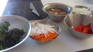 下北沢に出張シェフ:野菜の下準備