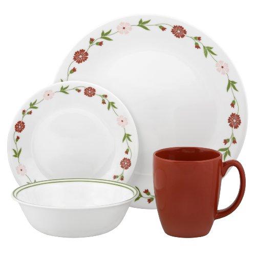 NikDaAz Kitchen Wares And Dinner Wares Corelle Livingware Spring Pink 16 P
