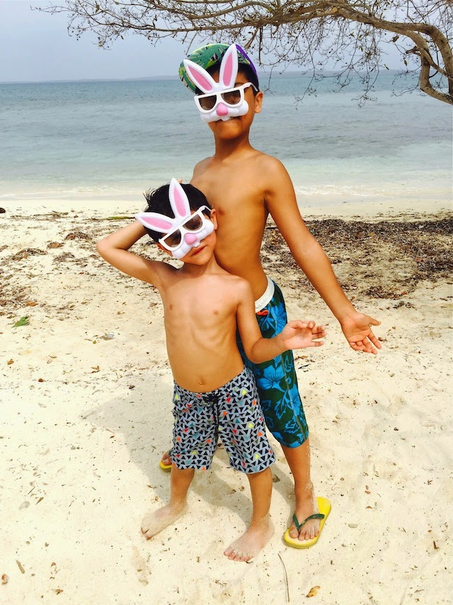 How Was Your Easter Ours Was Fab Spent In Rosario Islands In Colombia My Bunnies Had To Find Their Eggs Along The Beach Fun St Time For Everything
