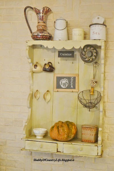 Tra vecchie patine e zucche.. My Autumn Decor Home - shabby&countrylife.blogspot.it