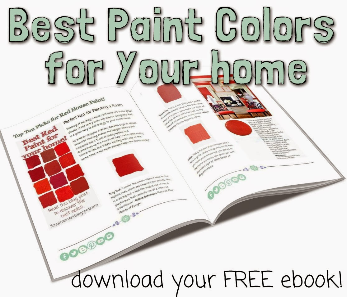 best interior paint color ideas | bedroom paint ideas | kitchen paint colors | living room paint ideas | paint colors for bedrooms | download your FREE paint guide on https://schulmanart.leadpages.net/free-decorating-ebook-schulmanart/
