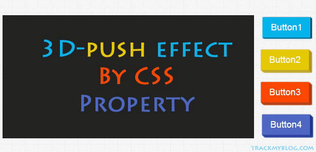 CSS Push Buttons Like Css-Tricks
