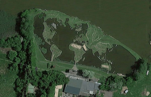 Homem passa 25 anos da sua vida a construir um Mapa Mundi gigante