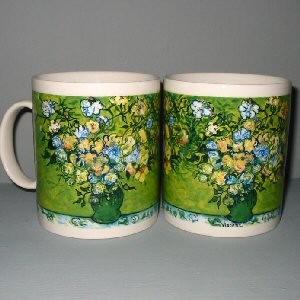 Buy a Vincent Van Gogh Roses Ceramic Mug