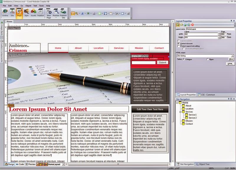 website creator 800 Corel Website Creator X7 v13.50 Final Full Version with Crack