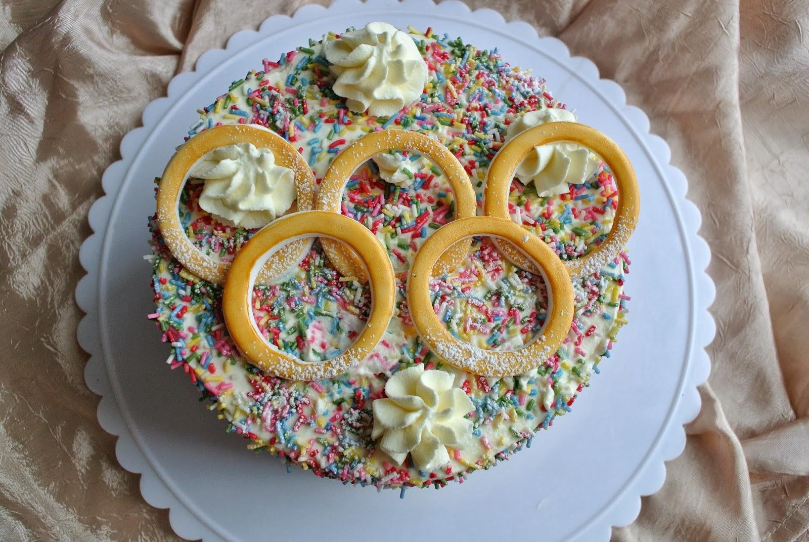 Kakku olympialaisten kunniaksi