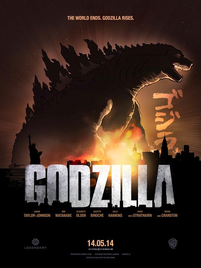 Godzilla movie poster shop