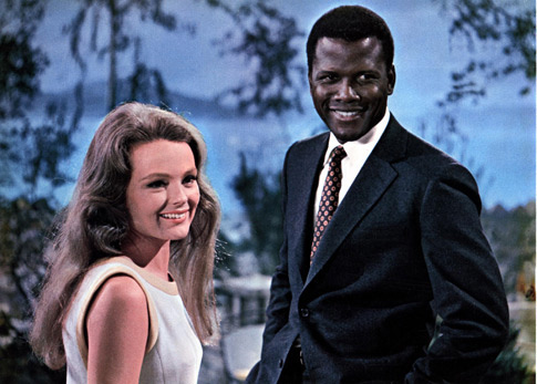 Sidney Poitier and Katharine Houghton from Guess Who's Coming To Dinner