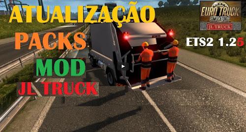 ETS2 Mod - Pack de Caminhões Brasileiros Para o Tráfego V.6.1 Para V.1.26.X By: JL Truck