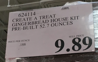 Deal for the Create a Treat Pre-Built Gingerbread House Kit at Costco