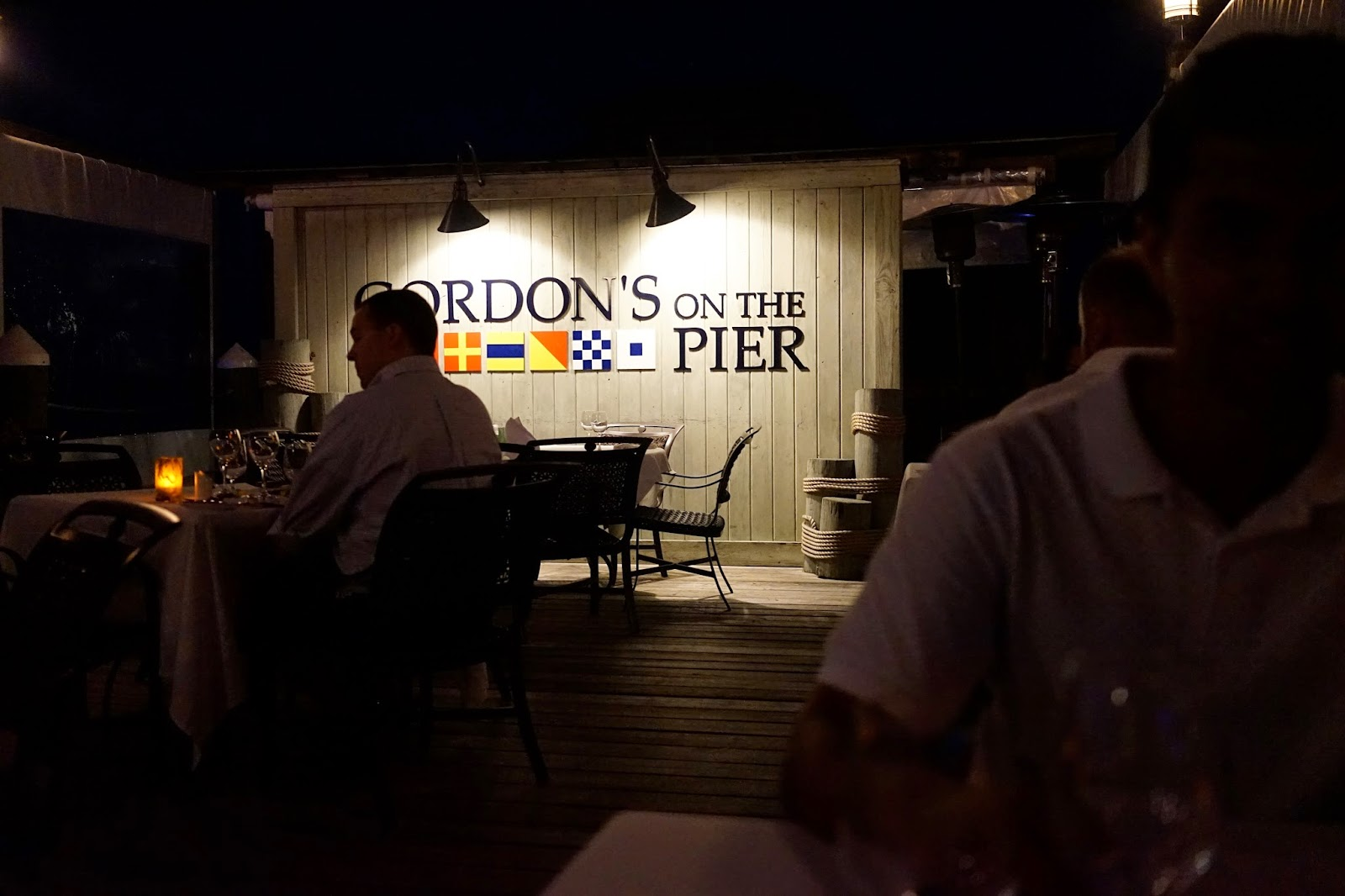 Gordon's on the pier review sandals
