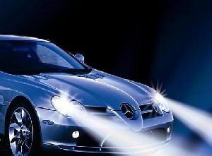 Mercedes Benz com Xenon papel de parede