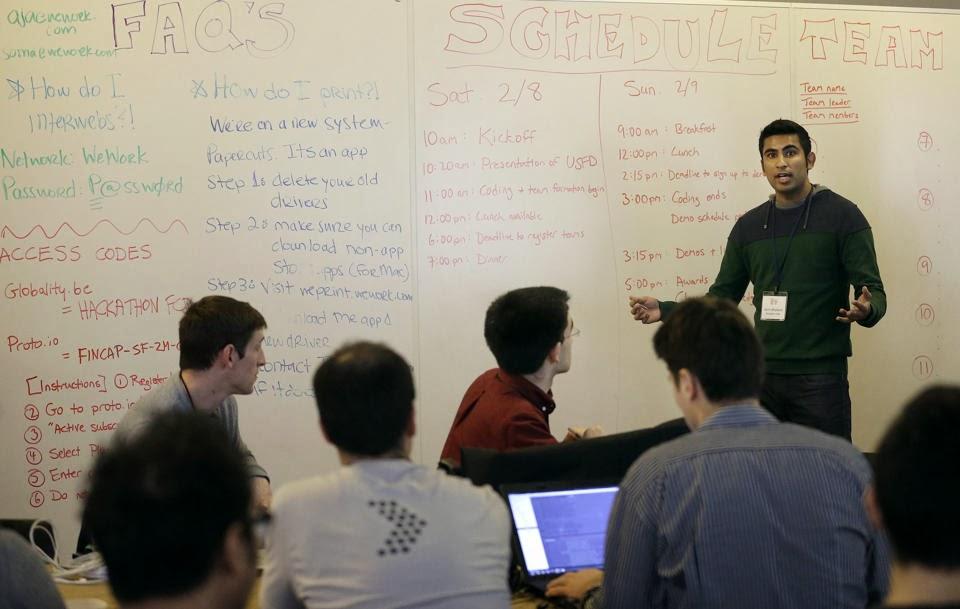 Blog Blog Computer Whizzes Brainstorm For Cash At Hackathons